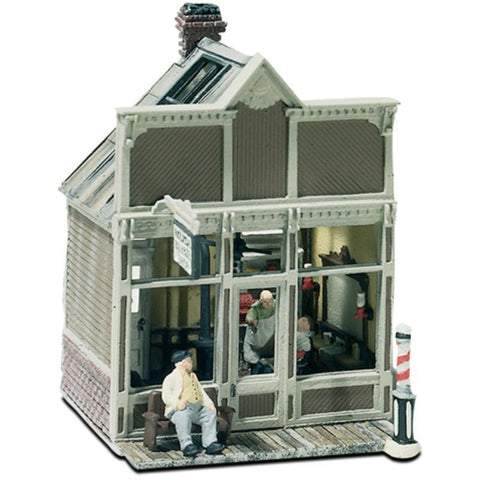 WOODLAND SCENICS HO FLOYDS BARBER SHOP (KIT)