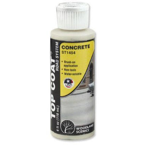 WOODLAND SCENICS Top Coat Concrete Paving 4 Oz