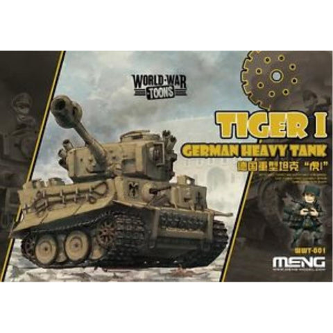 MENG German Heavy Tiger Tank I (WWT-001)
