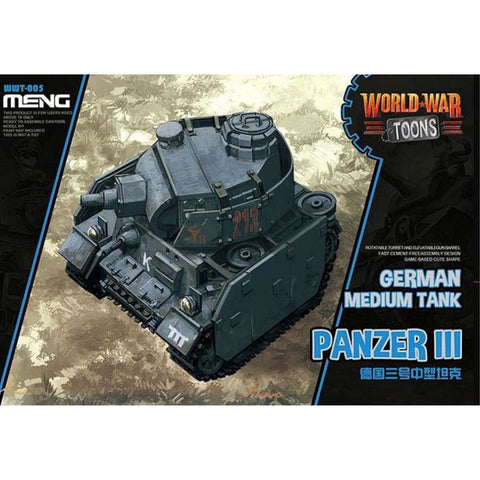 MENG German Medium Tank Panzer III (WWT-006)