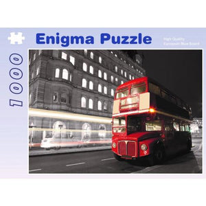 ENIGMA 1000 Piece Jigsaw London Bus