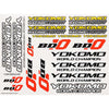 YOKOMO Logo decal for BD10.(Y-ZC-BD10-1)