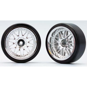 YOKOMO 10 Mesh Wheel (with 01R Tire) Off-set 12mm (ZR-DS13)