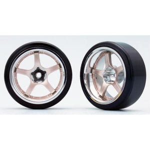 YOKOMO RAYS GRAMLIGHTS 57F-PRO (with 01R Tire) Off-set 12mm (ZR-DS16CG)