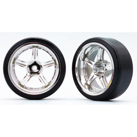 YOKOMO RAYS VOLK RACING GT-C (with 01R Tire) Off-set 12mm (ZR-DS18)