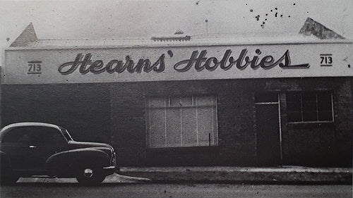 Hearns Hobbies Factory in Whitehorse Road 1953 (Courtesy Bruce J Hearn)