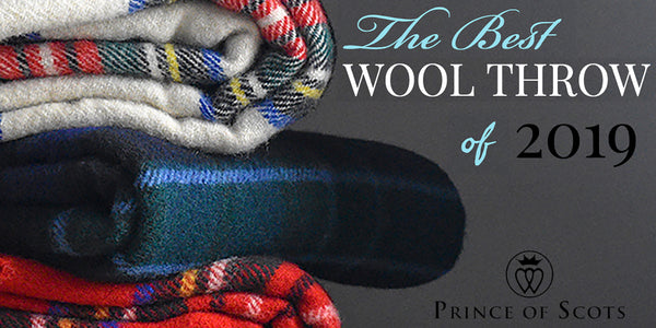Prince of Scots Highland Tweed Rated Best Wool Throw of 2019