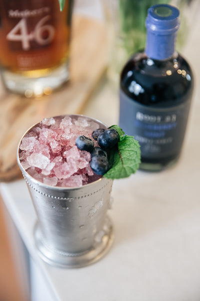 Prince of Scots Blueberry Mint Julep, 5 Cocktails We Love!