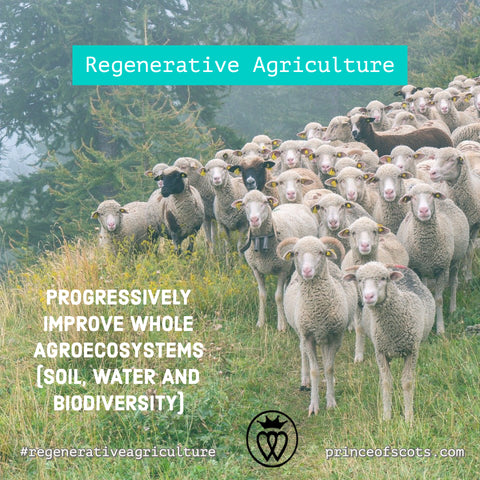 Prince of Scots Regenerative Agriculture for Your Home, Buy Less and Buy Better