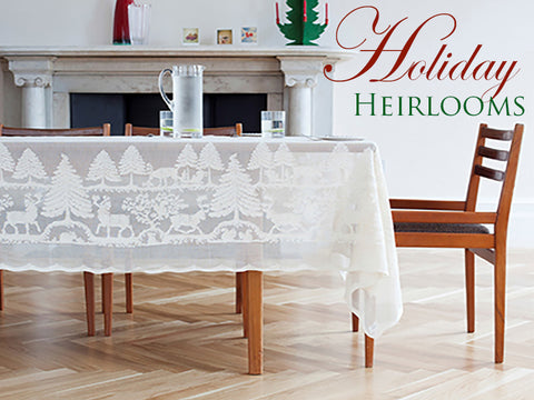 A New Holiday Heirloom ~ Nordic Christmas Table Cover