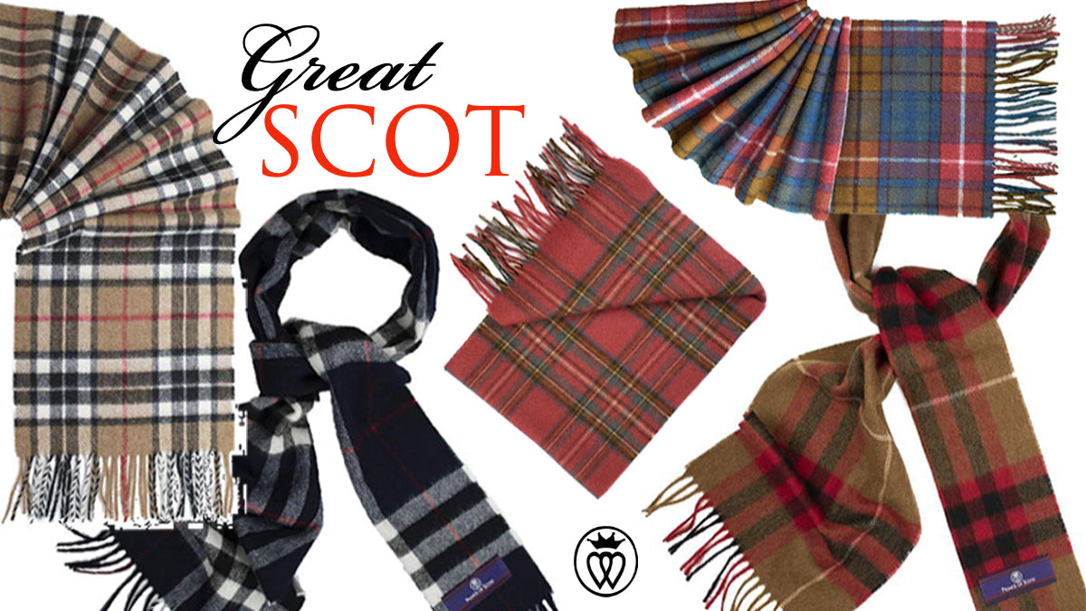 Great SCOT! Prince of Scots Scarf Collection