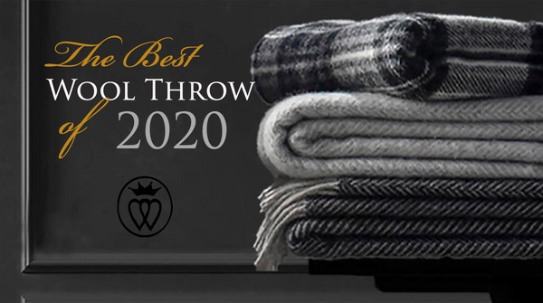 Prince of Scots Highland Tweed Rated Best Wool Throw of 2020
