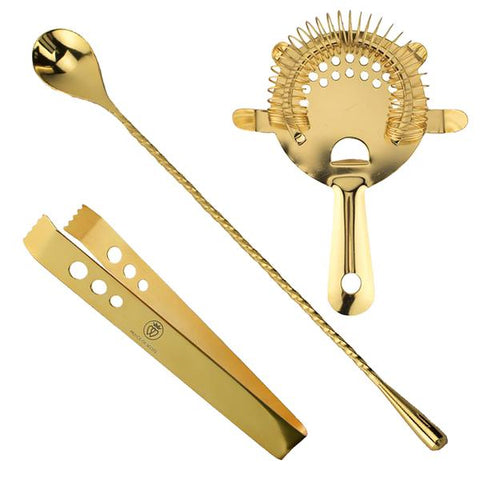 Prince of Scots 24K Gold-Plate Bar Tools