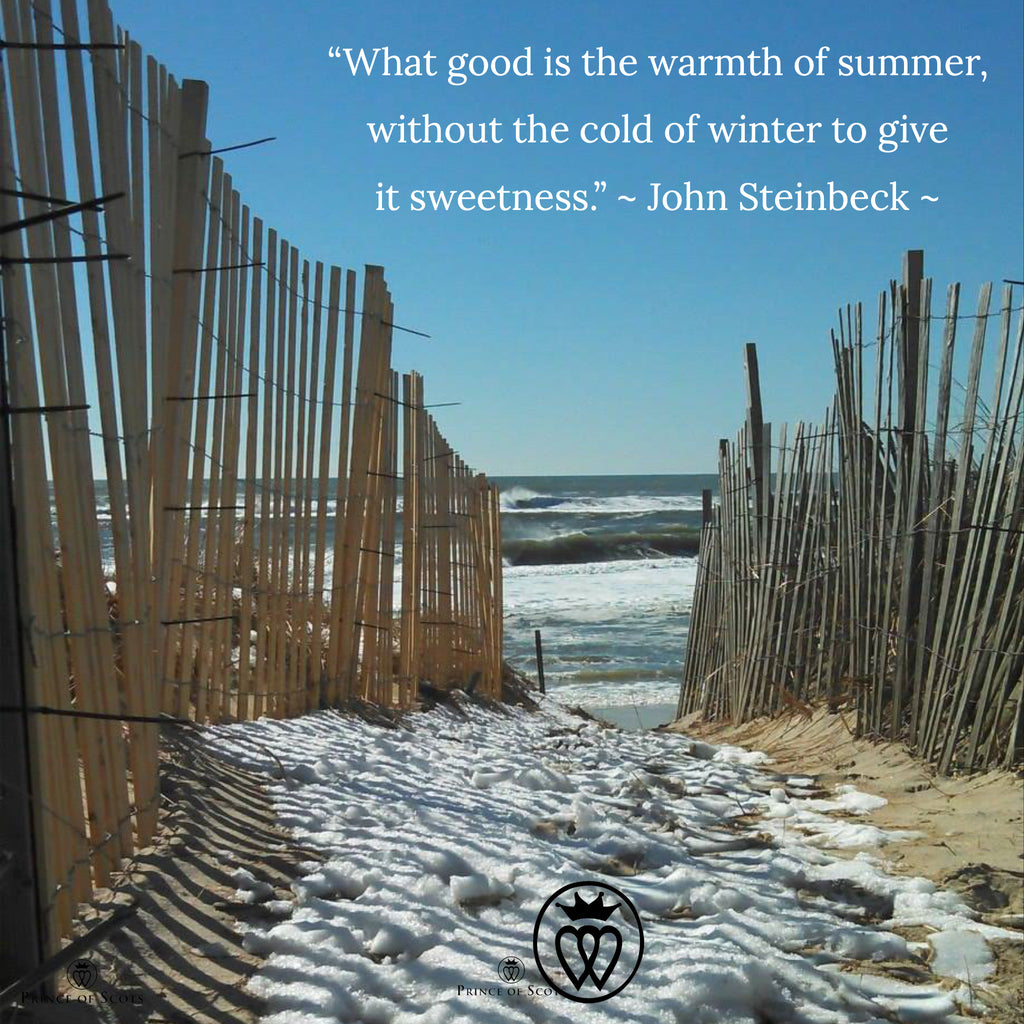 """What good is the warmth of summer, without the cold of winter to give it sweetness."""