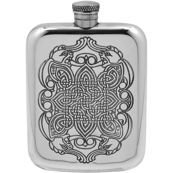 Celtic Dragon Design Premium Flask-Men's Gifts-Prince of Scots-Prince of Scots