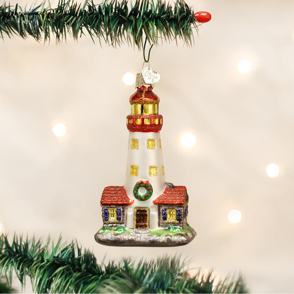 Christmas Lighthouse Ornament-Home-Old World Christmas-Prince of Scots
