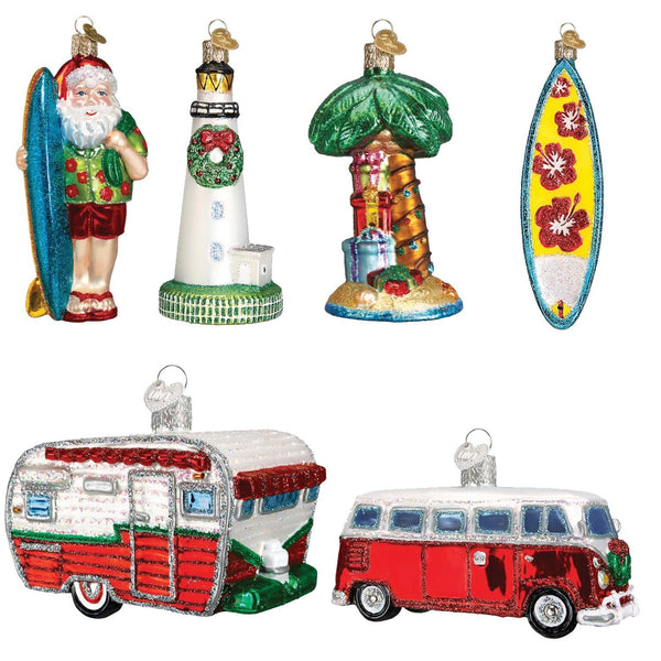 Limited Edition: Christmas at the Beach Ornament Box Set-Home-Old World Christmas-Prince of Scots