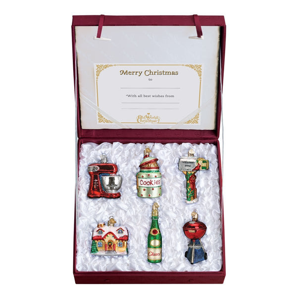 Limited Edition: Old World Christmas House Warming Collection Ornament Box Set-Home-Old World Christmas-Prince of Scots