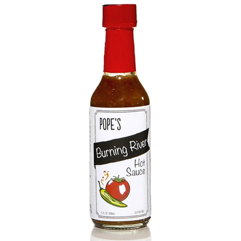 Pope's Kitchen Burning River Hot Sauce-Gourmet-Pope's-Prince of Scots
