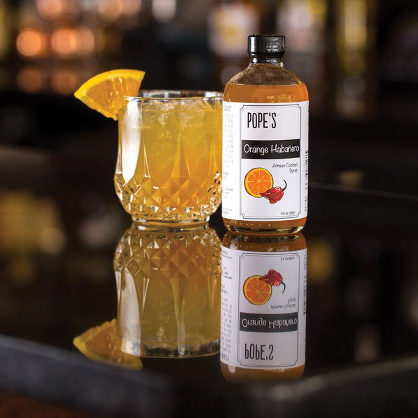 Pope's Kitchen Orange Habanero Syrup-Gourmet-Pope's-Prince of Scots