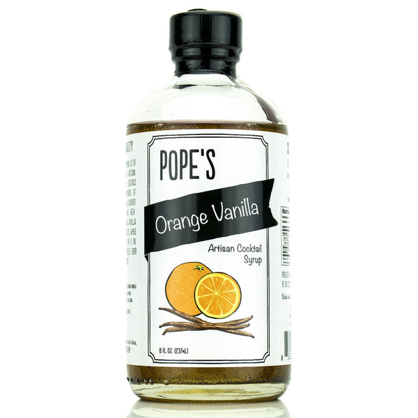 Pope's Kitchen Orange Vanilla Syrup-Gourmet-Pope's-Prince of Scots