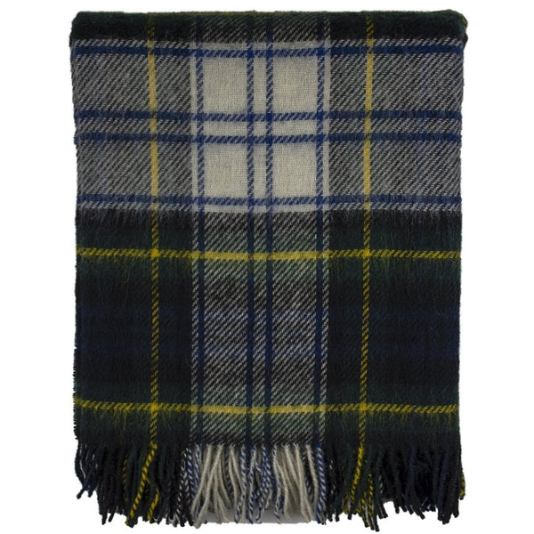Prince of Scots Highland Tweed Wool Lap/Shoulder Throw (Dress Gordon)
