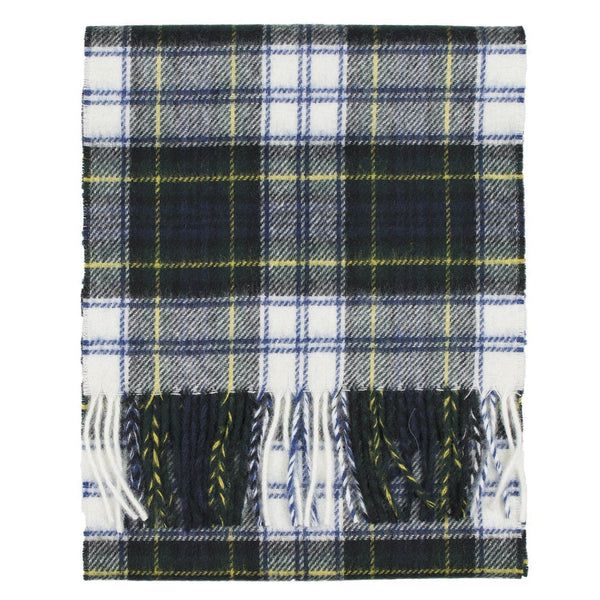 Prince of Scots Merino Lambswool Tartan Scarf (Dress Gordon)-Gifts-Prince of Scots-00810032750749-PrinceScarf04-Prince of Scots