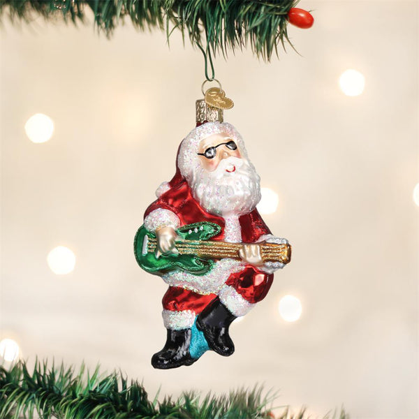 Rock-N-Roll Santa-Home-Old World Christmas-Prince of Scots