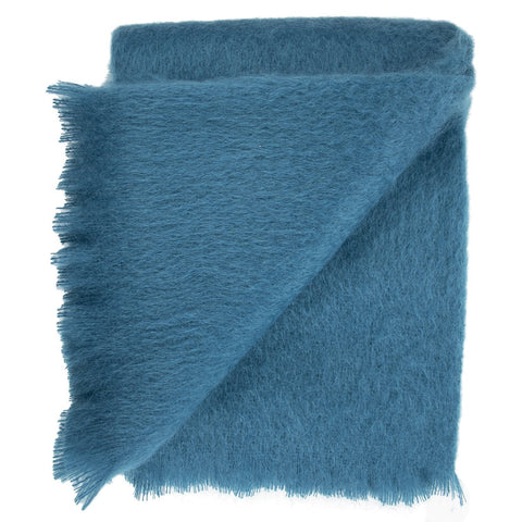 SOUTHAMPTON HOME Americana Collection (Blue Mohair)-Throws and Blankets-Prince of Scots-, Q350004-Prince of Scots