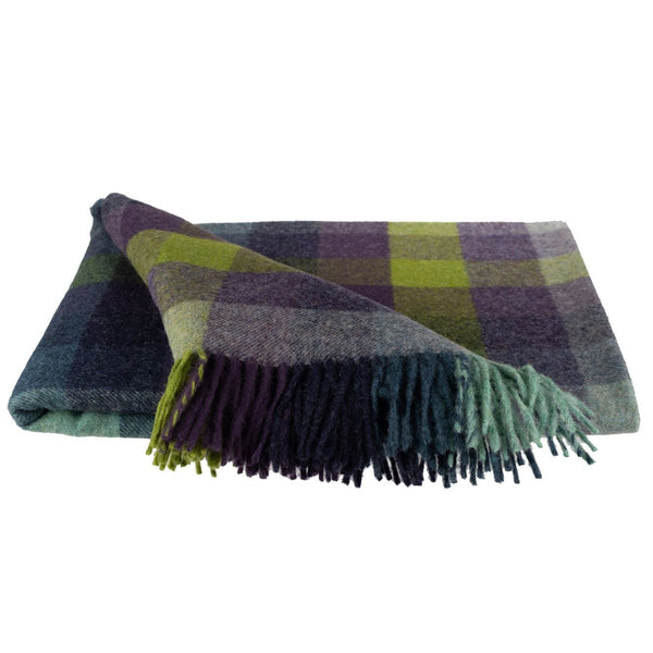 SOUTHAMPTON HOME Town & Country Check (Vineyard)-Throws and Blankets-Prince of Scots-, Q330002-Prince of Scots