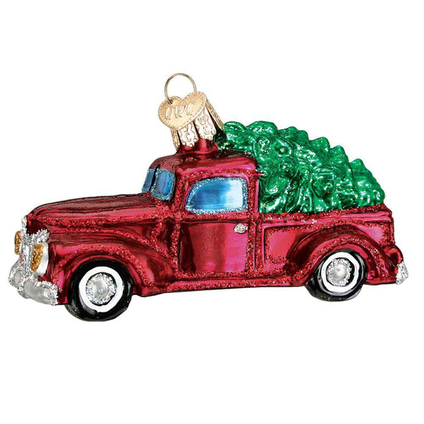 Vintage Truck With Tree Ornament Gift Boxed Prince Of Scots