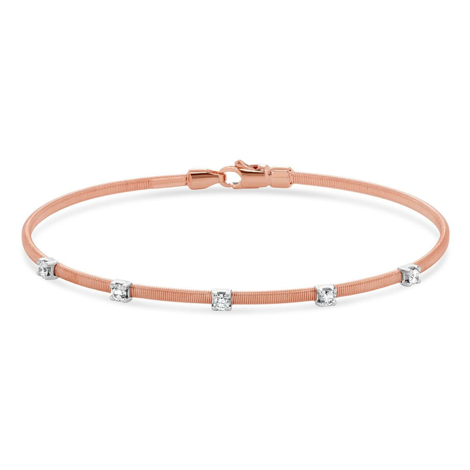 bracelets ingenious with rose bangle bangles gold wide pave line bracelet