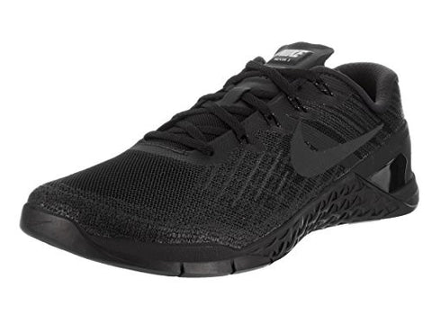 Nike Mens Metcon 3 Training Shoes Track Black/Black 852928-002 Size 10