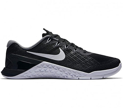Nike Womens Metcon 3 Training Shoes Black/White 849807-001 Size 8
