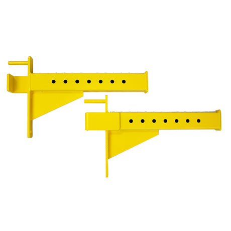 CrossBox Half Rack Safety Spotter Arms
