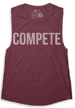 "COMPETE EVERY DAY MUSCLE TANK ""COMPETITOR"""