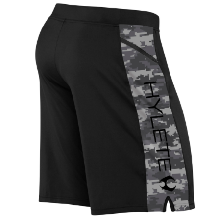 HYLETE Vertex Zip-Pocket Short-Camo