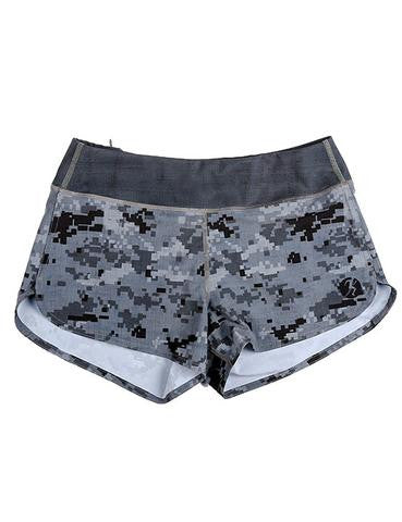 COMPETE EVERY DAY WOMENS SPRINT (DIGI CAM) CAMO SHORTS