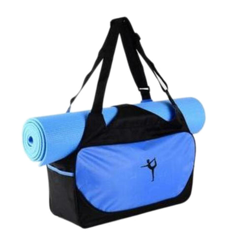 Outdoor Waterproof Yoga Bag-Blue
