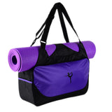Outdoor Waterproof Yoga Bag-Purple