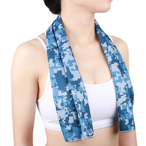 Cooling Towel-Blue Camo