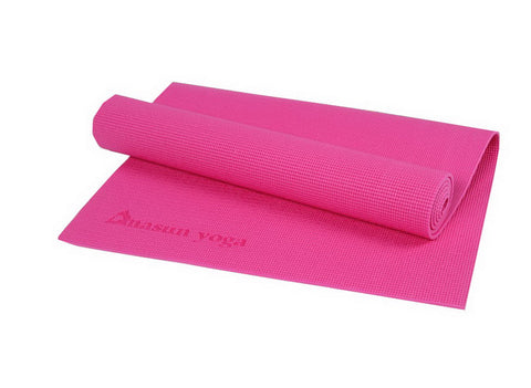 Eco Yoga Mat PVC 6mm (Burgundy)