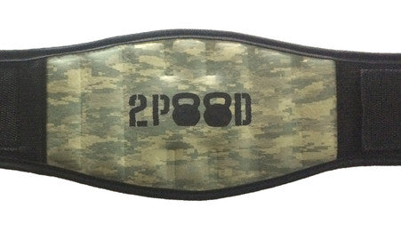 2Pood METCON BELT BLACK CAMO