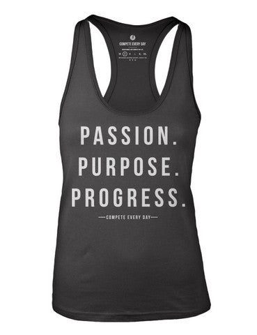 COMPETE EVERY DAY PASSION TANK