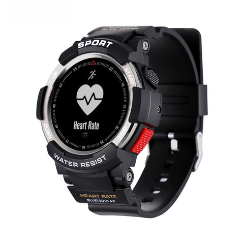 Waterproof Bluetooth 4.0 Sports Smart Watch with Heart-rate Monitor