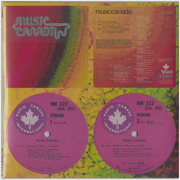 Electronic Music by Canadian Composers, Volumes 1 & 2, Music Canada Vol XIII, Electronic Music in Canada