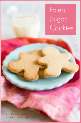 Paleo Sugar Cookie Recipe by A Girl Worth Saving