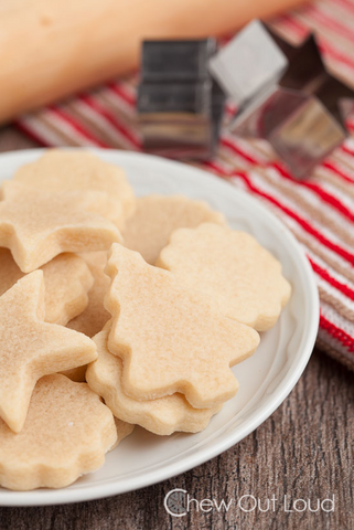 Perfect Vanilla Almond Cutout Cookie Recipe by Chew Out Loud