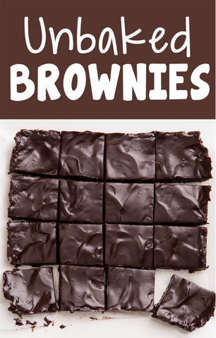 The Ultimate Unbaked Brownie Recipe by Chocolate Covered Katie