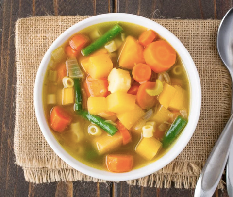 30 Minute Winter Vegetable Soup Recipe by Culinary Ginger